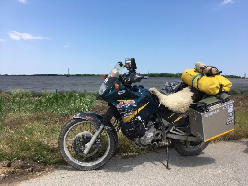 Suzuki Motorrad DR650RSE Oskar
