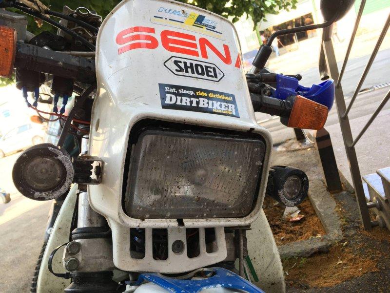 Motorrad-Frontscheinwerfer