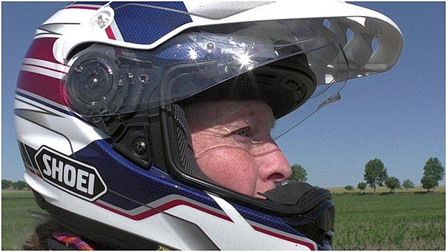 Shoei Hornet ADV Motorrad Helm