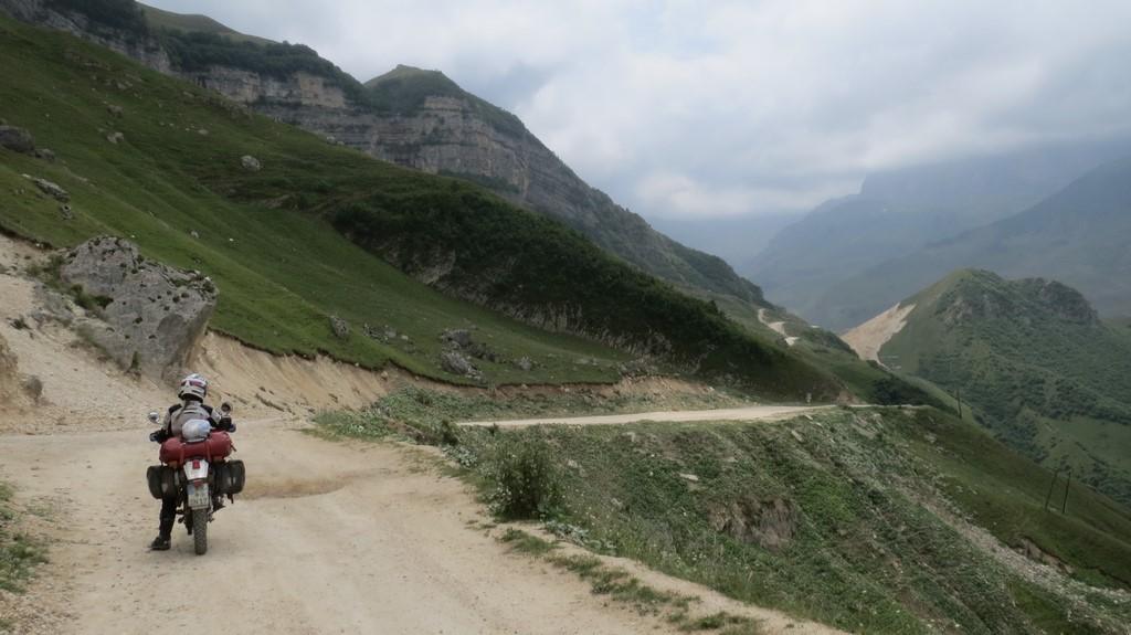 offroad durch Aserbaidschan