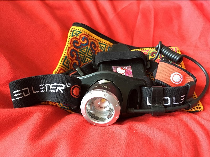 Die LED-Lenser Stirnlampe
