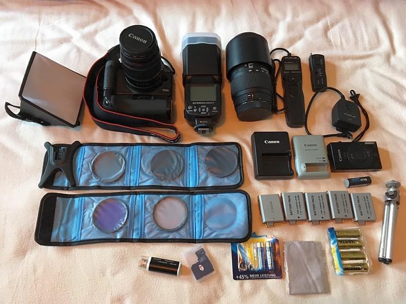Fotoausrüstung Silke und Jan