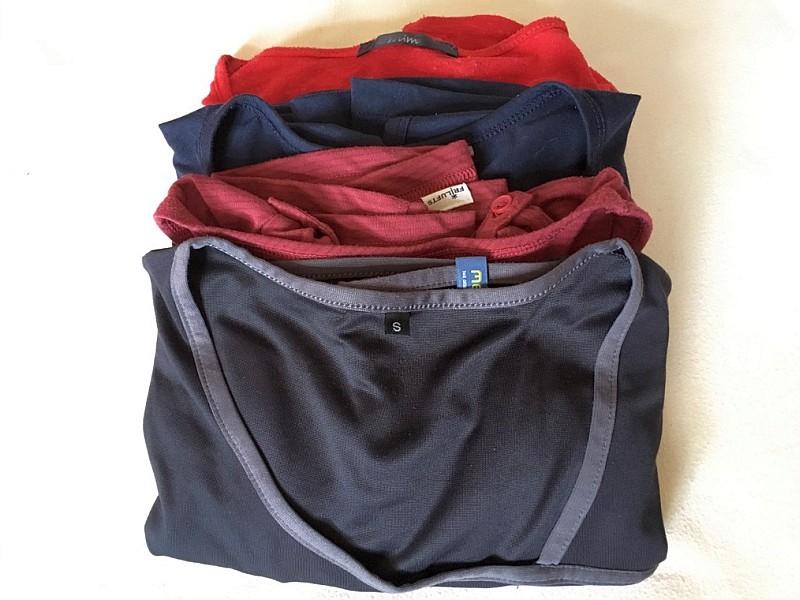 Stapel von T-Shirts
