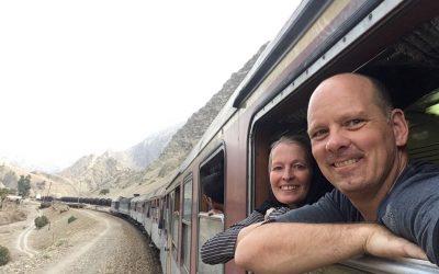 Zugfahrt von Dorud nach Andimeshk