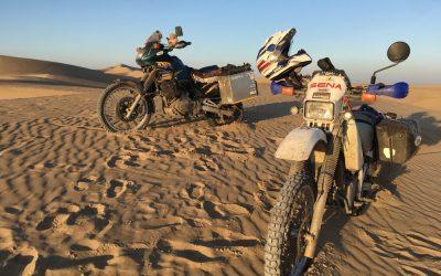 Zwischenbilanz Weltreise Motorräder: was war kaputt?