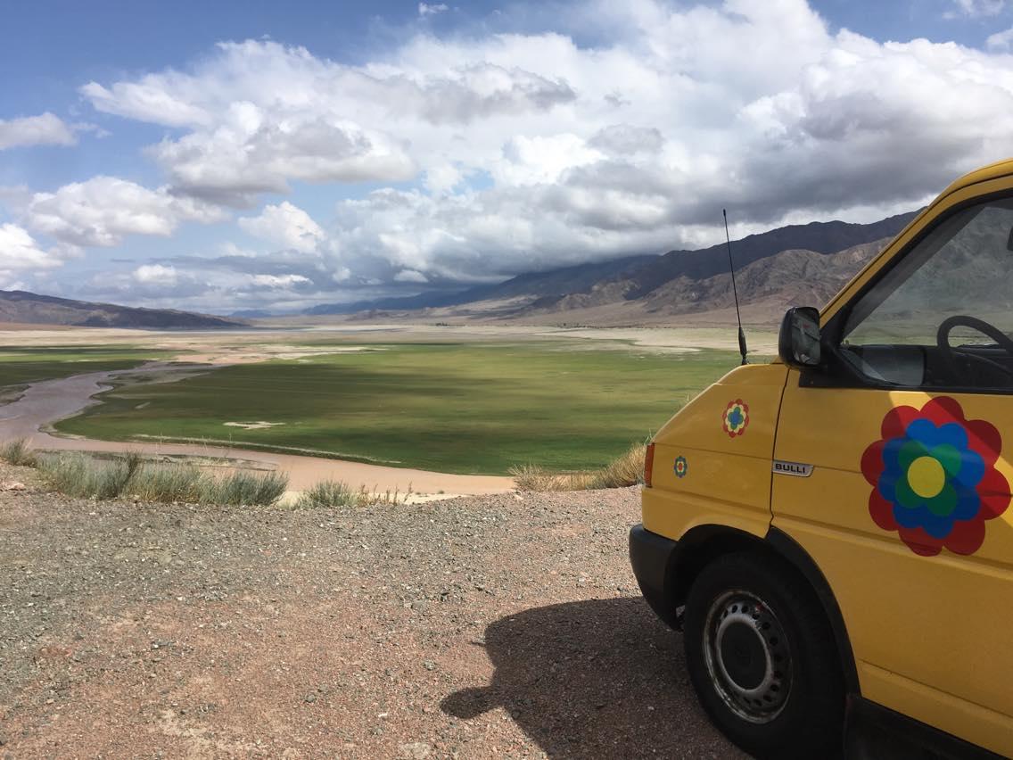 Im Eiltempo durch Kirgistan