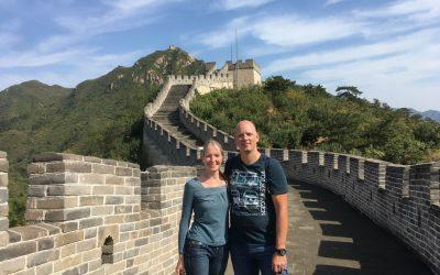 Peking und die chinesische Mauer