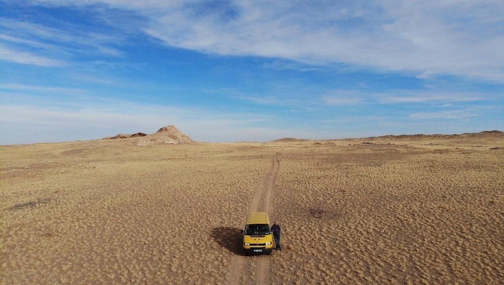 Die Stille der Wüste Gobi
