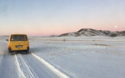 Mit dem Diesel im Winter durch Sibirien
