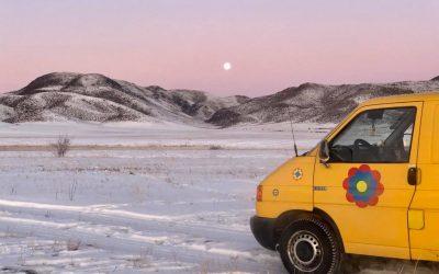 Im Winter durch die Mongolei