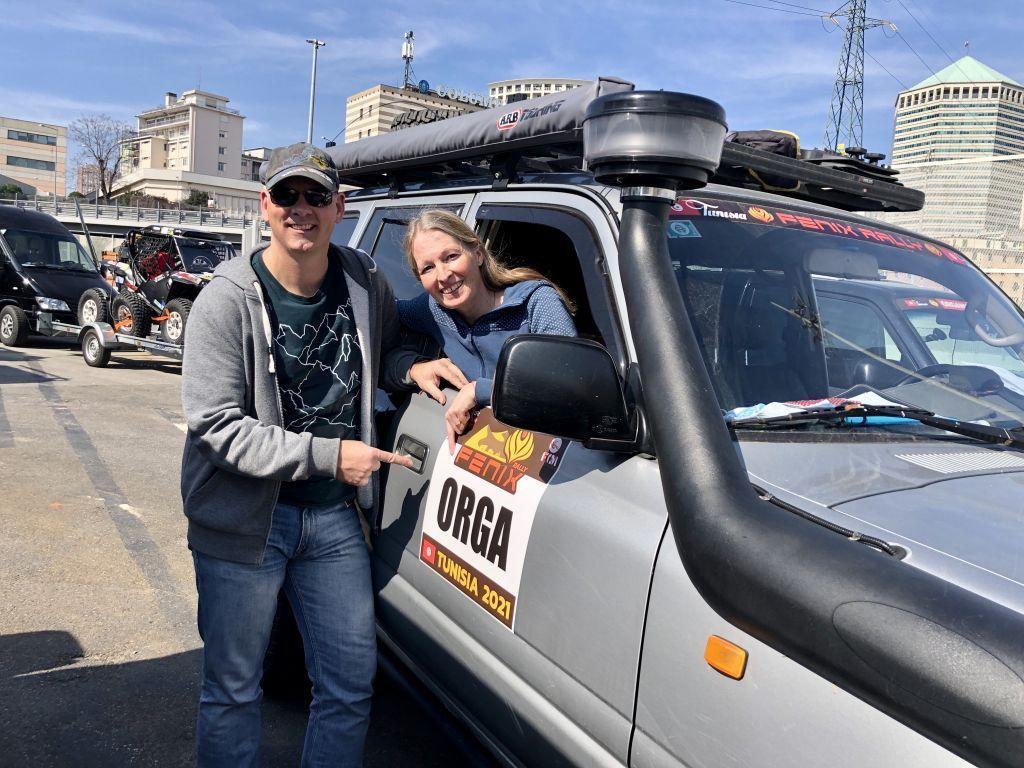 Fenix Rallye in Tunesien